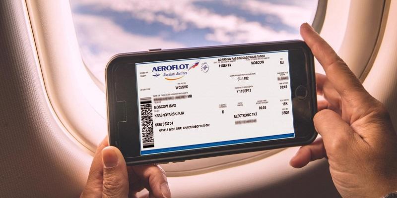 электронная регистрация на рейс самолета